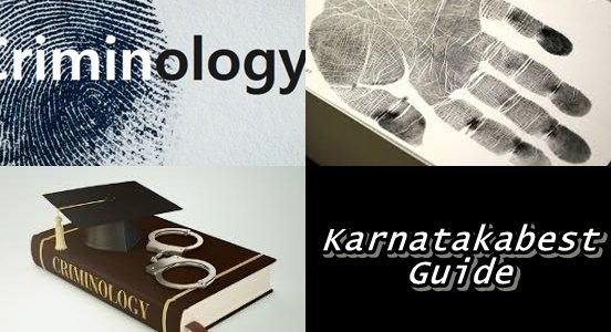 Criminlogy Course Guide in Kannada